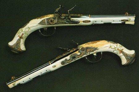 Ковка, инкрустация и воронение огнестрельного оружия